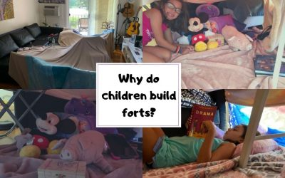 Why do children build forts?